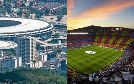 TOP 10 สนามฟุตบอลที่สวยที่สุดในโลก