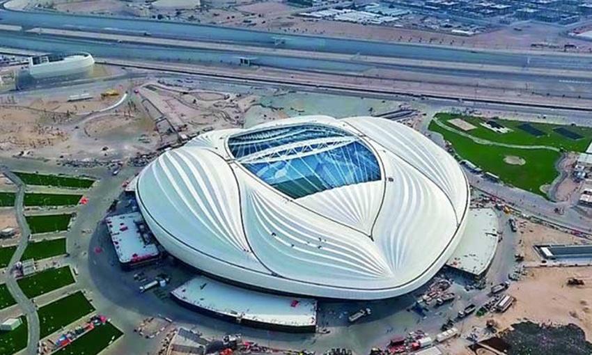 สนามการแข่งขันฟุตบอลโลกปี 2022 ?