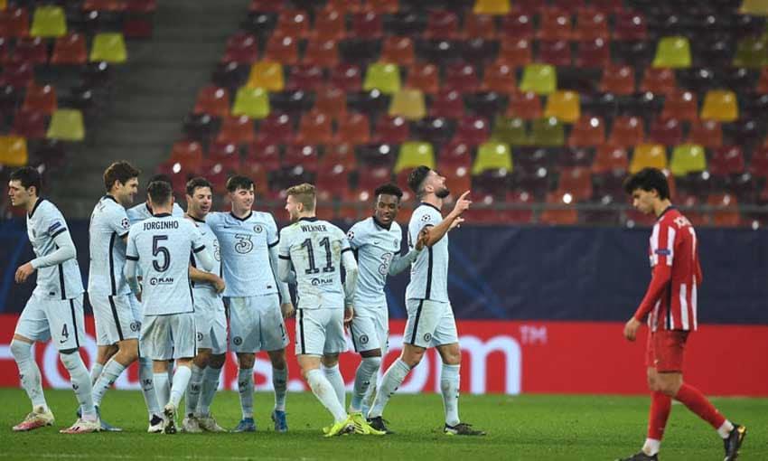 เชลซีบุกเฉือนตราหมี 1-0 เกมยูฟ่า แชมเปียนส์ลีก รอบ 16 ทีมสุดท้าย นัดแรก