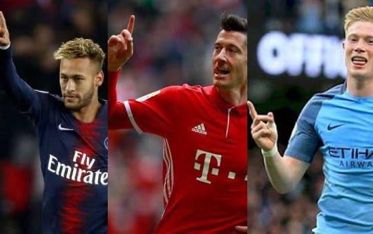 Top10 นักฟุตบอลที่ดีที่สุดในโลกปี 2021 -footballhits98.com