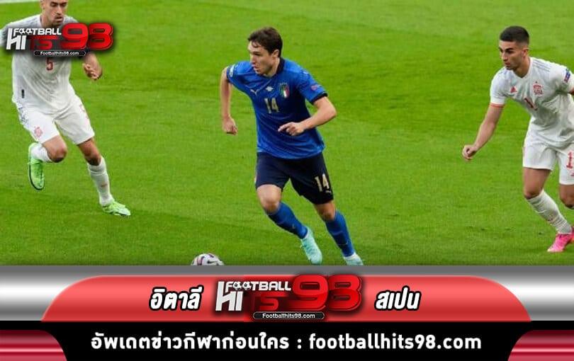 ไฮไลท์ ฟุตบอลยูโร2020 อิตาลี พบกับ สเปน
